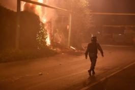 В Греции подожгли здание футбольной федерации и запретили весь футбол