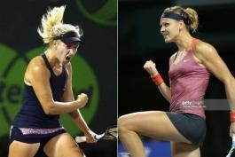 Miami Open. Люси Шафаржова – Дарья Гаврилова
