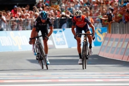Винченцо Нибали – победитель 16-го этапа Джиро д`Италия-2017 (ВИДЕО)