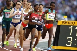 Чемпионат Мира 2017. Лондон. Женщины. Бег 1500 м