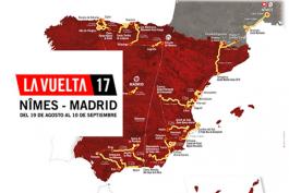 Призовой фонд Вуэльты Испании-2017 составит более 1 миллиона евро