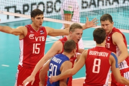 Чемпионат Европы. Россия - Словения