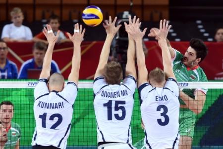 Чемпионат Европы. Болгария - Финляндия