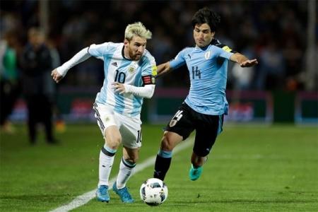 ЧМ-2018. Квалификация. Уругвай - Аргентина