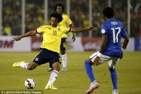ЧМ-2018. Квалификация. Колумбия - Бразилия