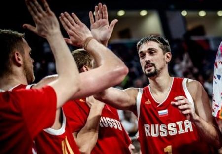 Чемпионат Европы 2017. Россия - Греция