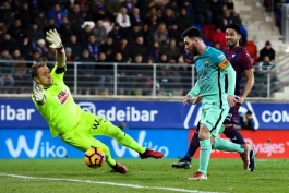 Ла Лига. «Барселона» - «Эйбар»