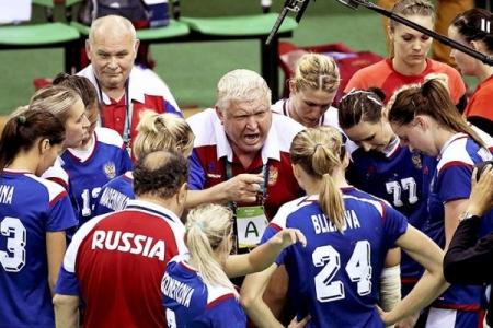 Чемпионат мира. Россия - Тунис