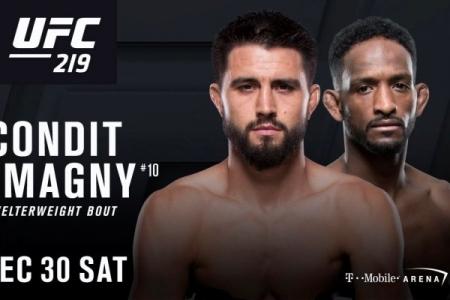 UFC 219. Карлос Кондит vs Нил Мэгни