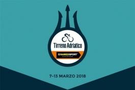 Тиррено-Адриатико-2018. Маршрут