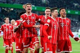 «Бавария» может стать чемпионом в марте