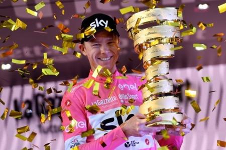 Крис Фрум - победитель Джиро д`Италия-2018
