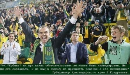 Заявление объединений болельщиков ФК «Кубань»