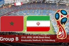 Чемпионат мира-2018. Марокко - Иран