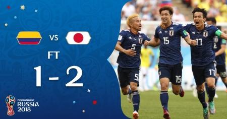 Колумбия проиграла Японии