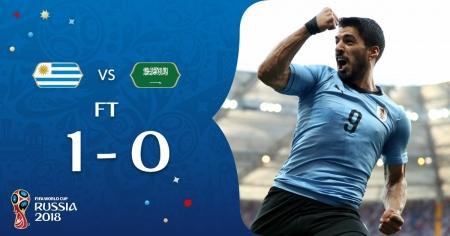 Уругвай стал вторым участником 1/8 финала чемпионата мира