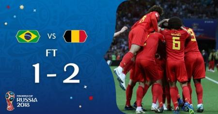 Бельгия стала соперником Франции по полуфиналу