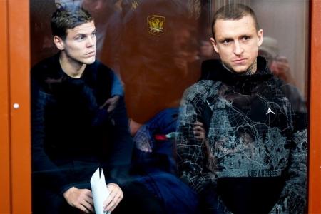 Кокорин и Мамаев на 2 месяца помещены в СИЗО