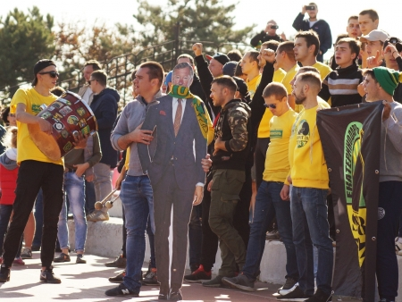 Алекс Фергюсон побывал на гостевом матче «Кубани»