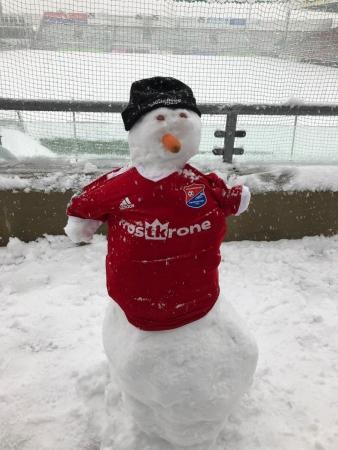 В Германии отменены два матча из-за снегопада