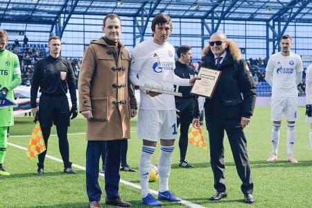 ПФК «Оренбург» получил премию «Лига Fair Play»