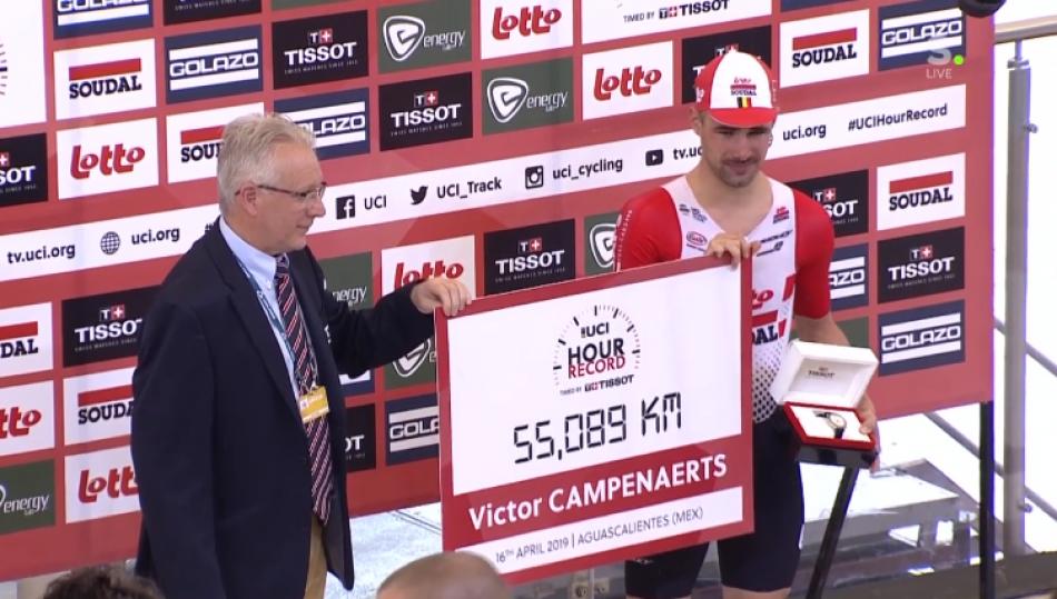 Часовой рекорд Виктора Кампенартса. Составляющие успеха