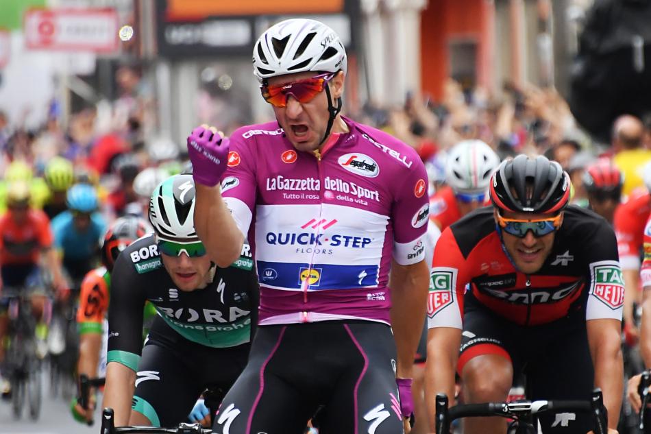 Чемпион Италии должен выиграть спринт на 5-м этапе Джиро-2019. Кф – 2.90