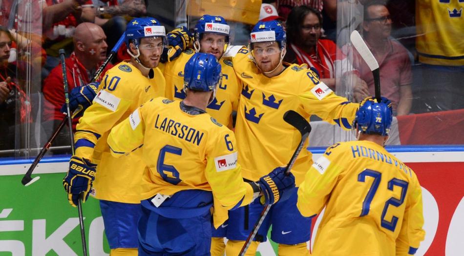 Швеция выйдет в полуфинал чемпионата мира