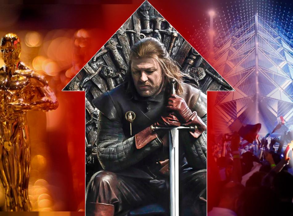 «Игра престолов» превзошла «Оскар» и Евровидение по объему ставок