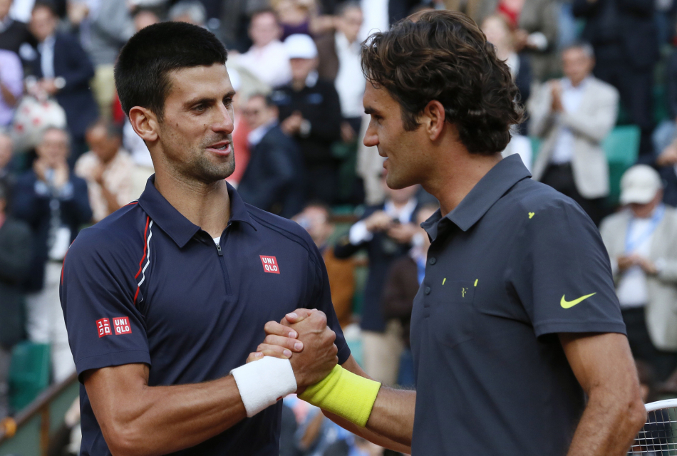 Сможет ли Федерер прервать серию поражений в матчах с Джоковичем?