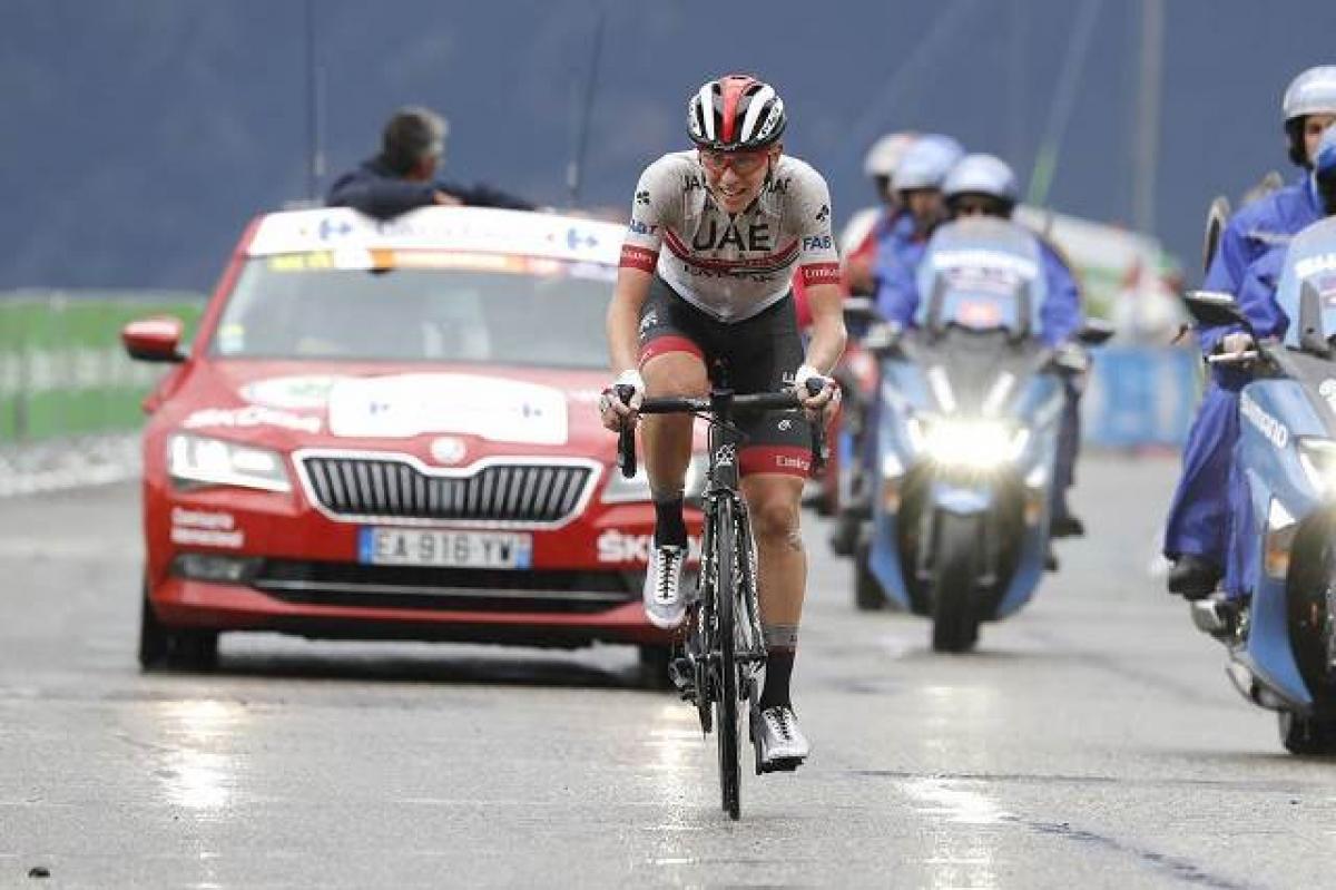 Тадей Погачар – победитель королевского этапа Вуэльты Испании-2019