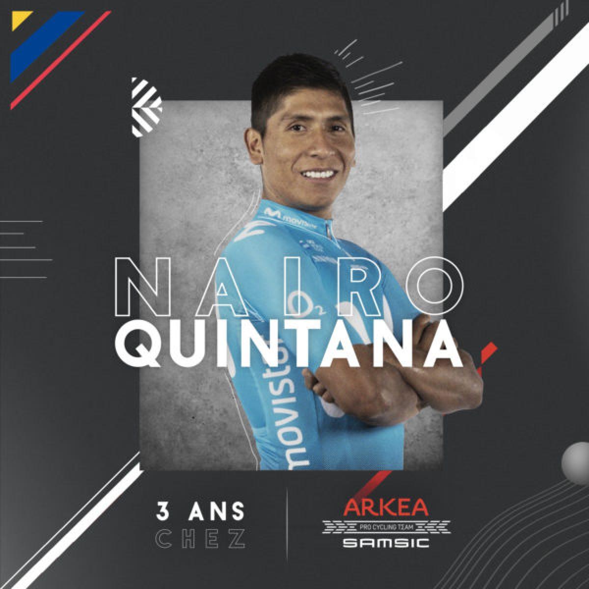 Наиро Кинтана покинул Movistar, за которую выступал 8 лет