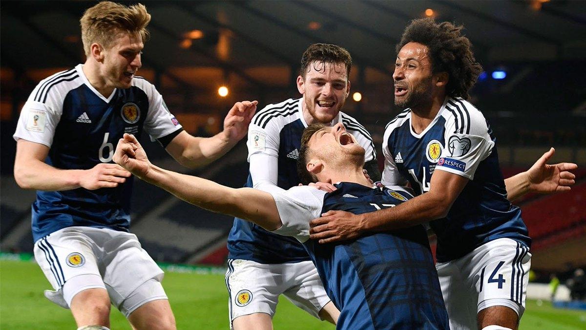 Шотландия доставит неприятности подопечным Черчесова