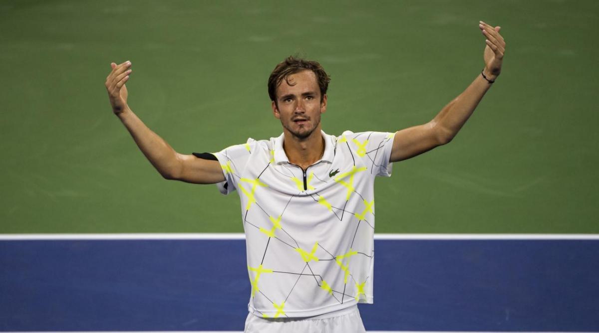 Медведев и Надаль должны сыграть в финале US Open