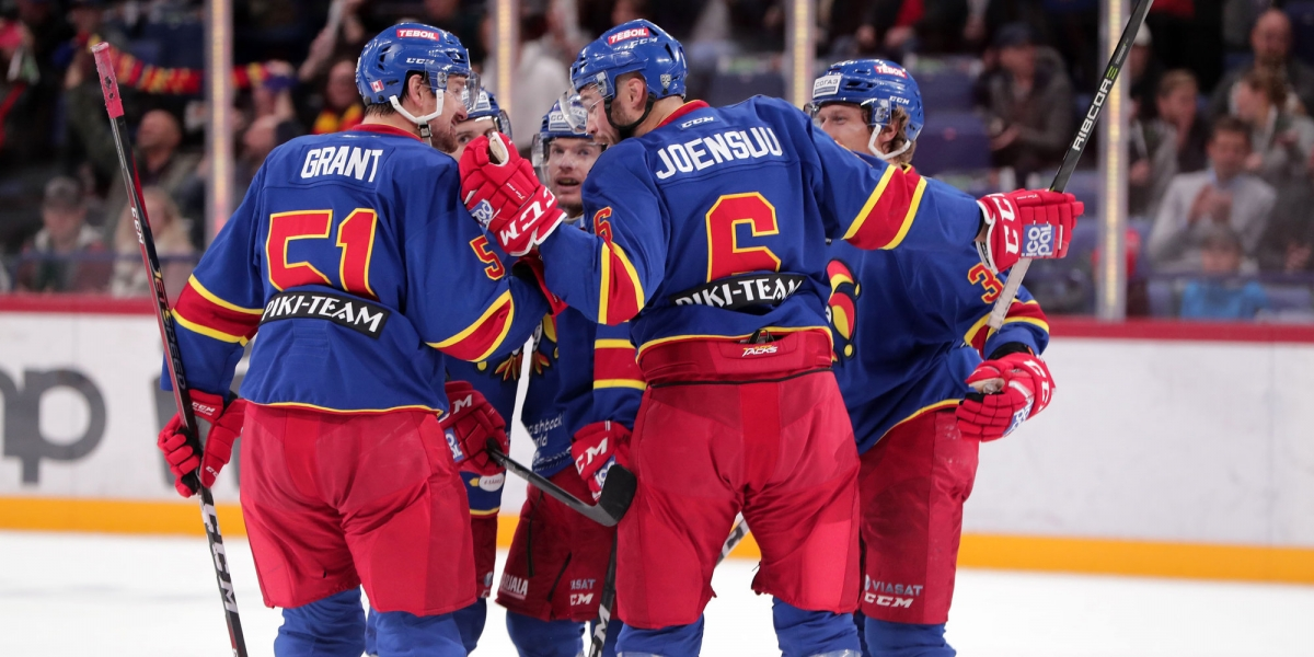 Экспресс на три матча регулярного чемпионата КХЛ. Кф – 4.53
