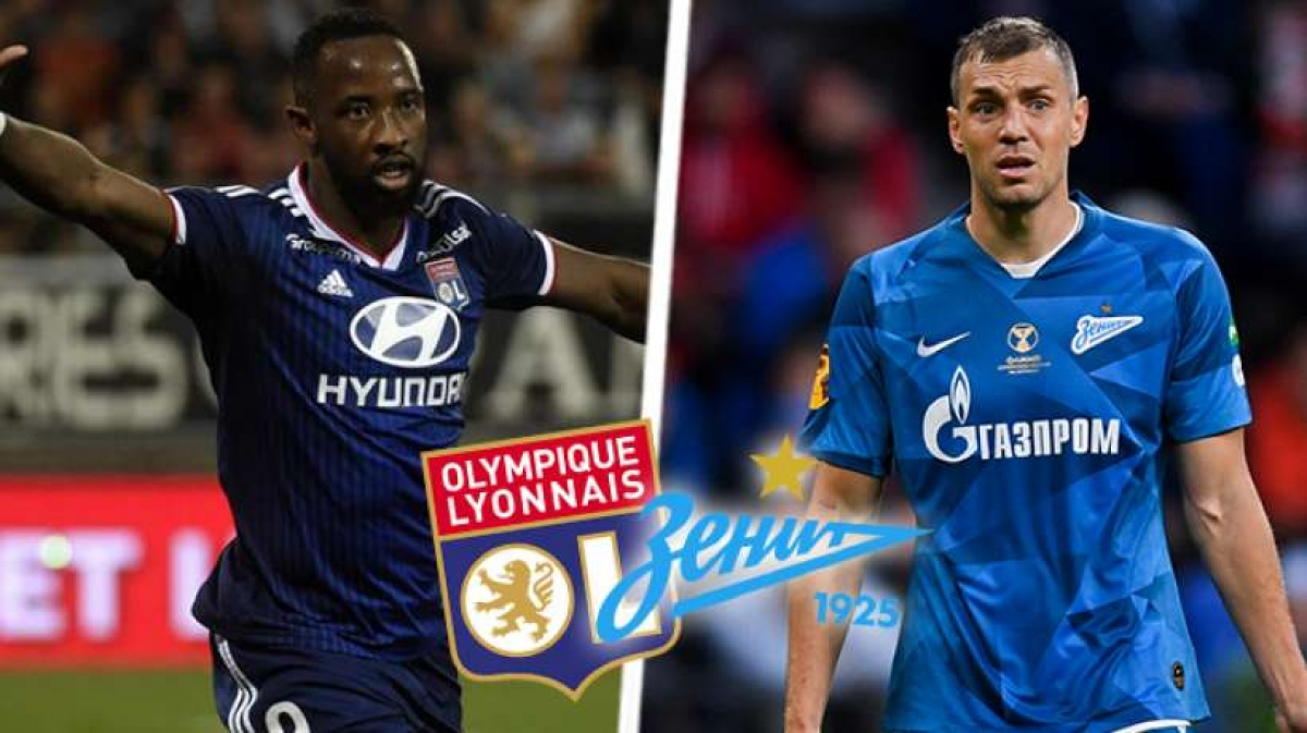 «Лион» - фаворит предстоящей игры с «Зенитом» в Лиге чемпионов