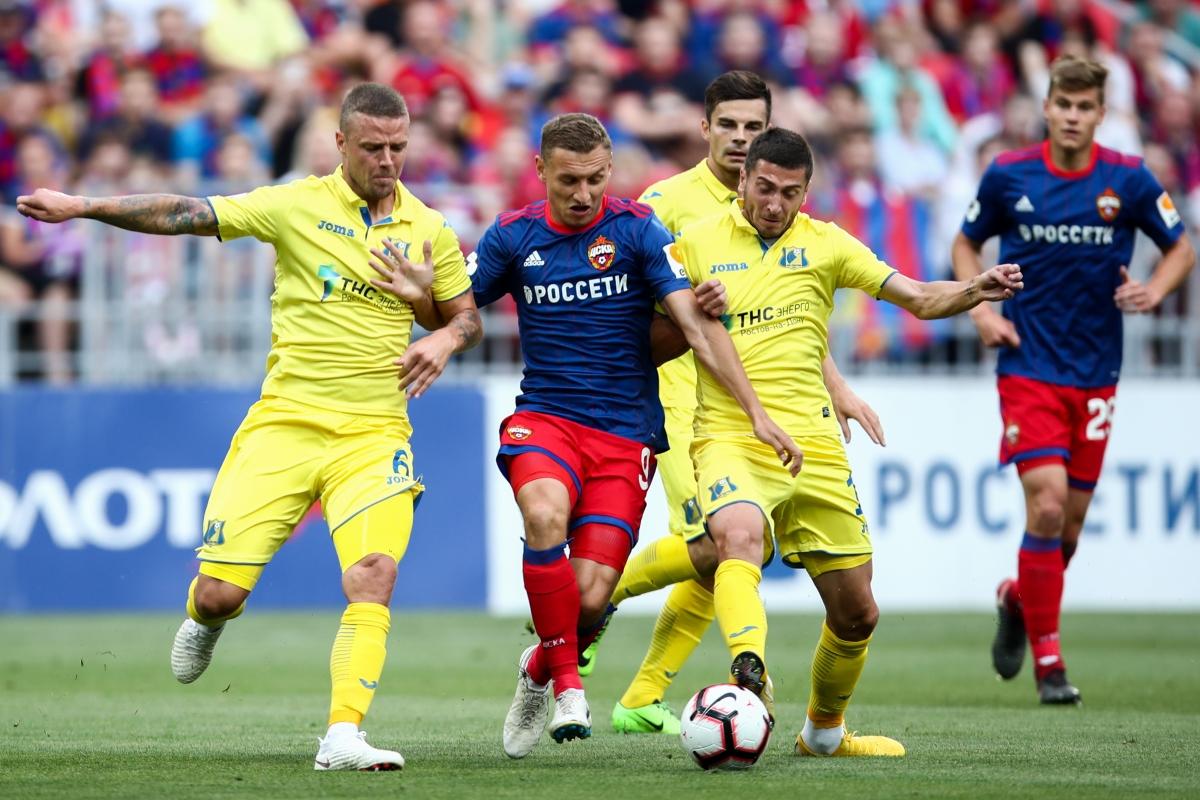 Продлит ли ЦСКА победную серию в Премьер-Лиге?