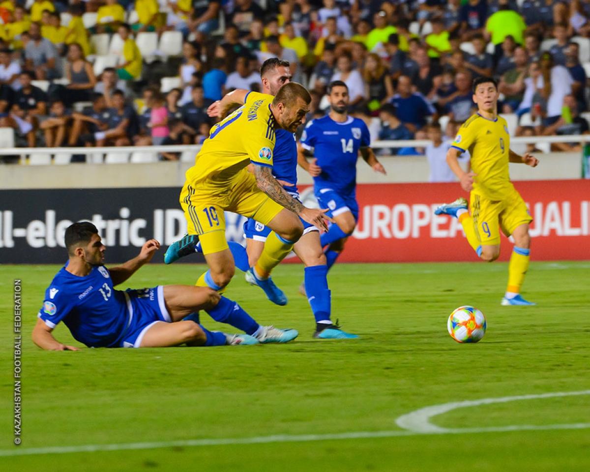 Казахстан и Кипр отметятся забитыми мячами