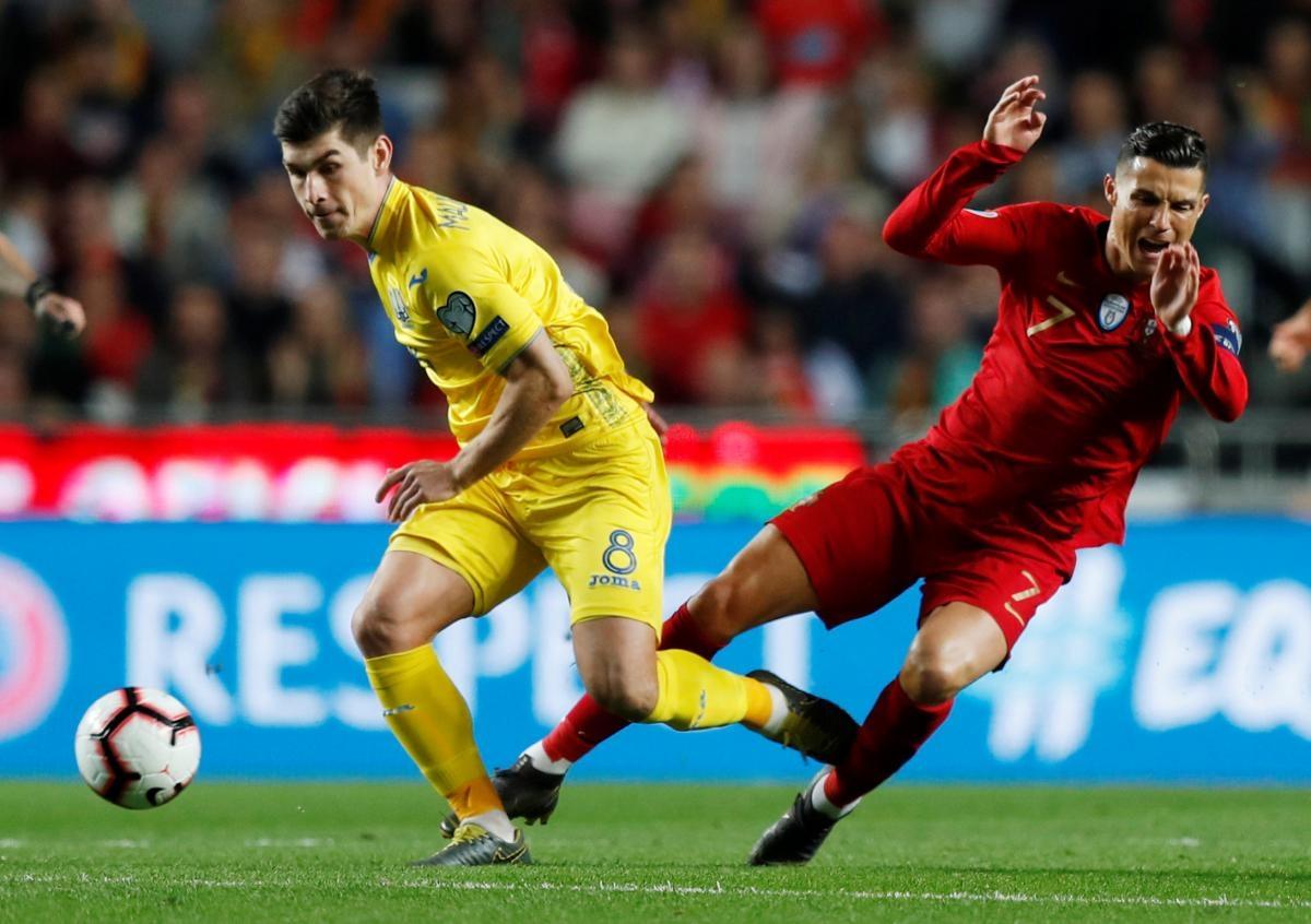 Украина решит задачу выхода на чемпионат Европы