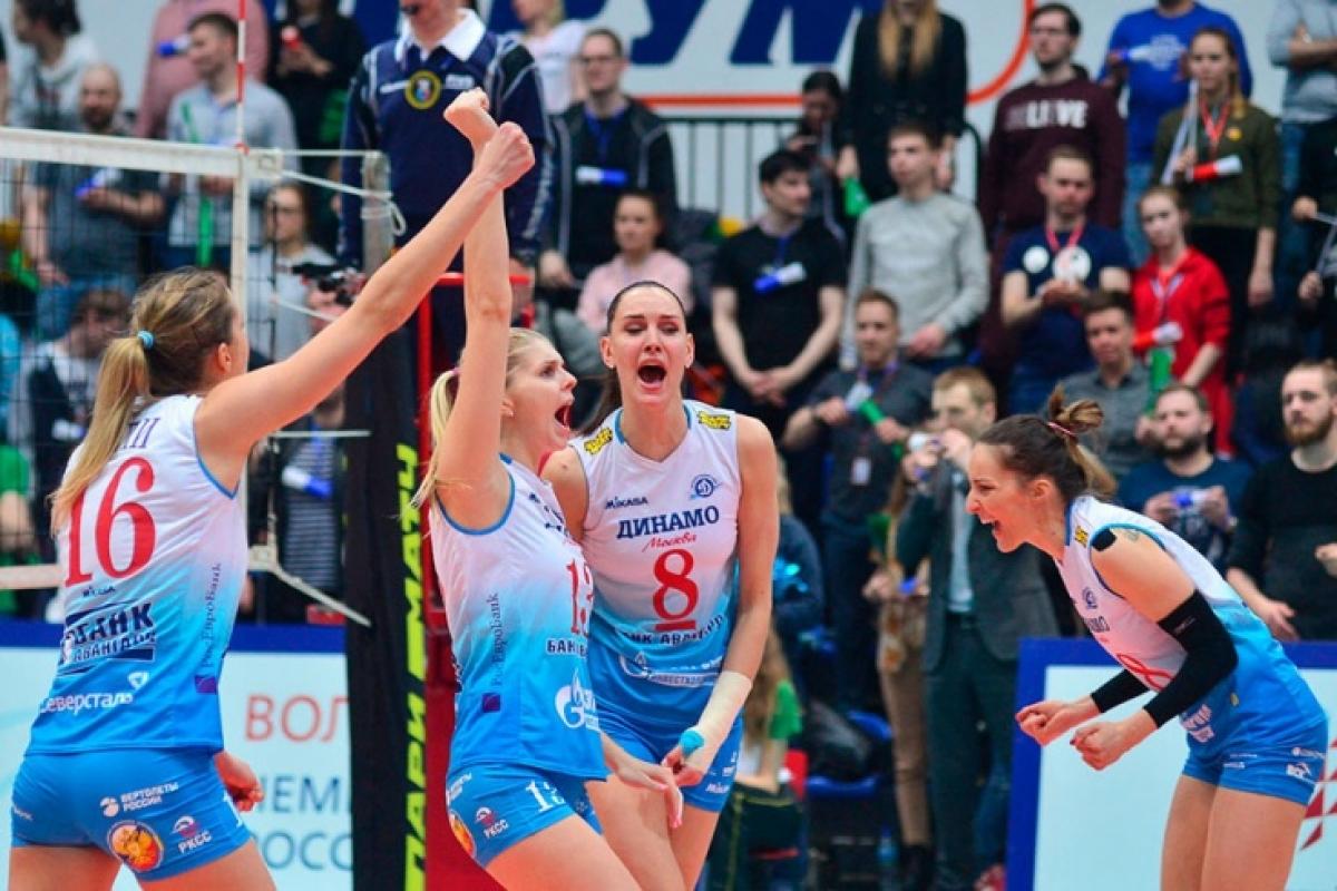 «Динамо» и «Уралочка» поборются за плей-офф Лиги чемпионов