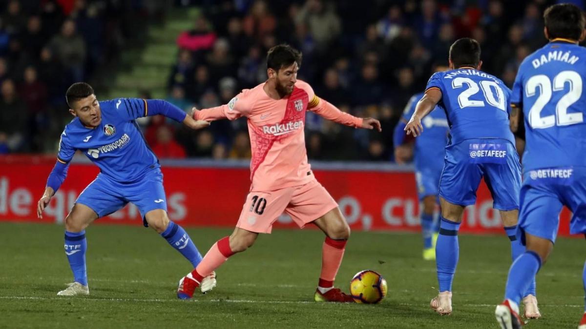 Сможет ли «Барселона» выиграть у «Хетафе» в два мяча?
