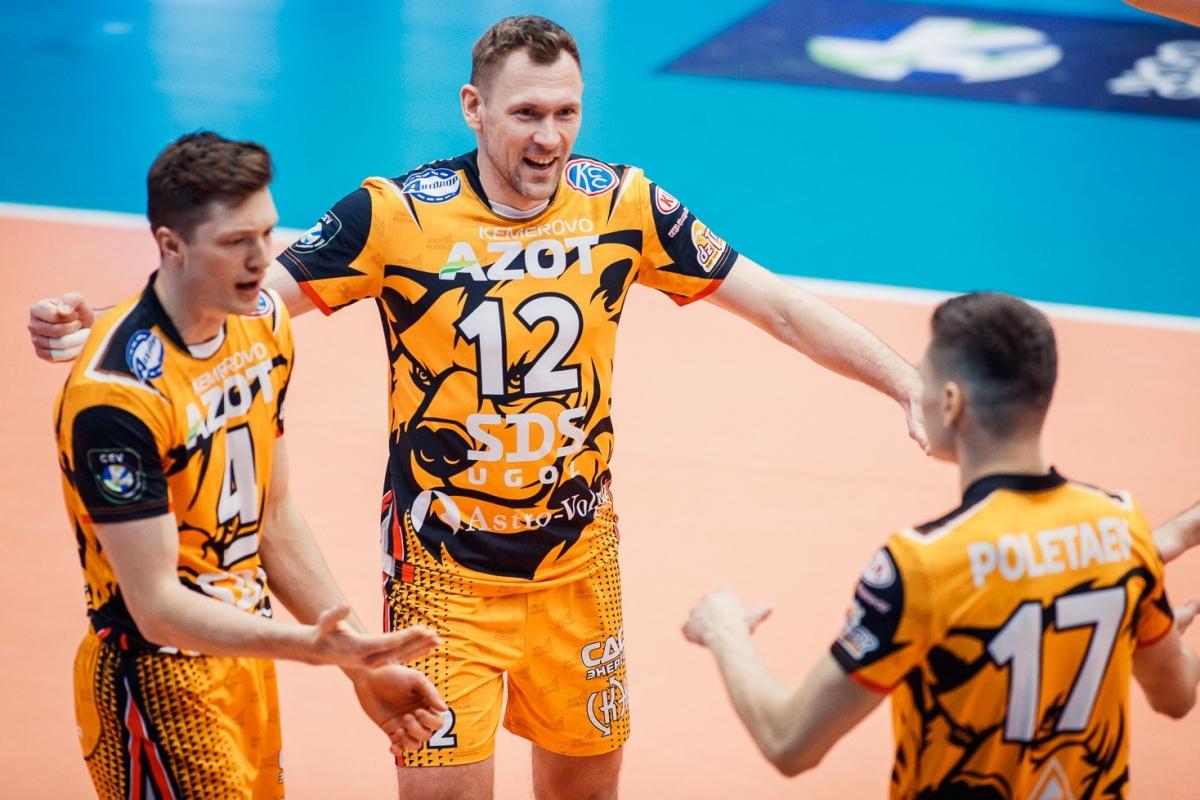 «Кузбасс» в шаге от полуфинала Лиги чемпионов