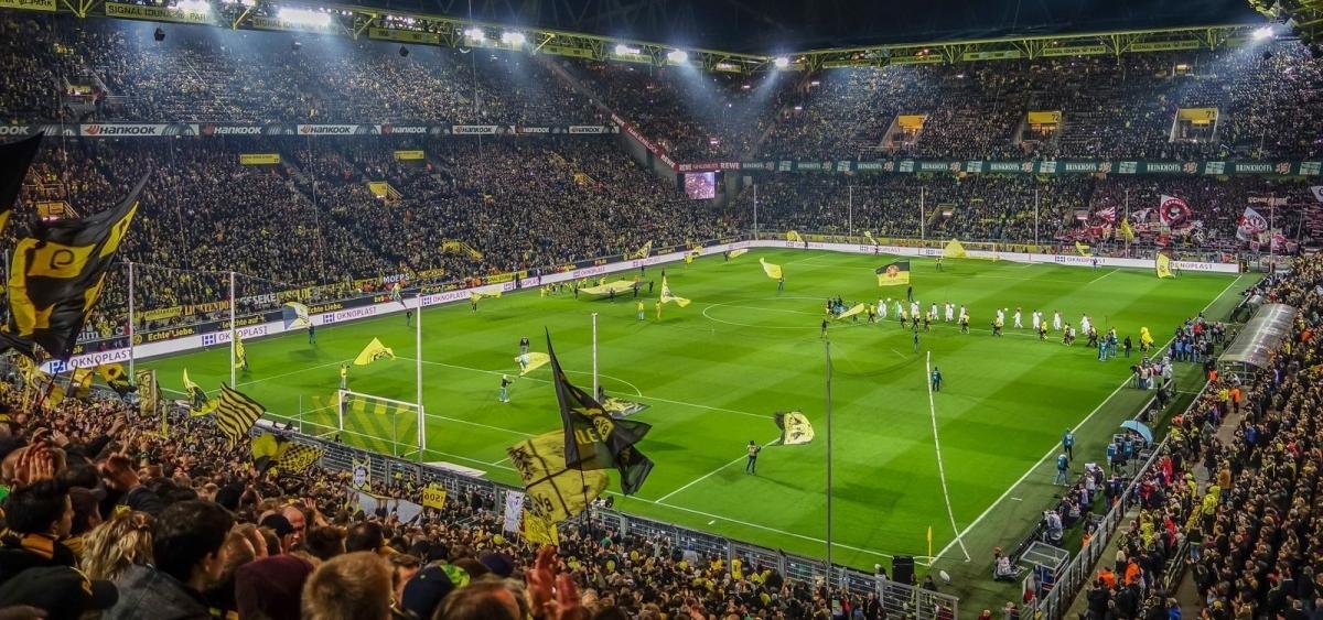 Бундеслига - самая посещаемая лига в мире