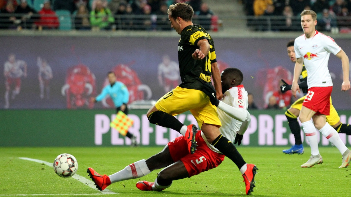 Битва за серебро Бундеслиги. Лейпциг против Дортмунда