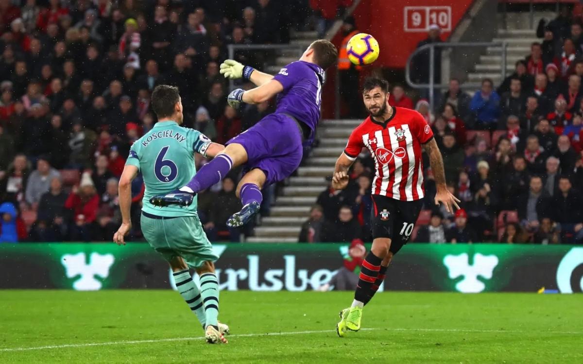 У «Саутгемптона» больше шансов на победу в матче с «Арсеналом»