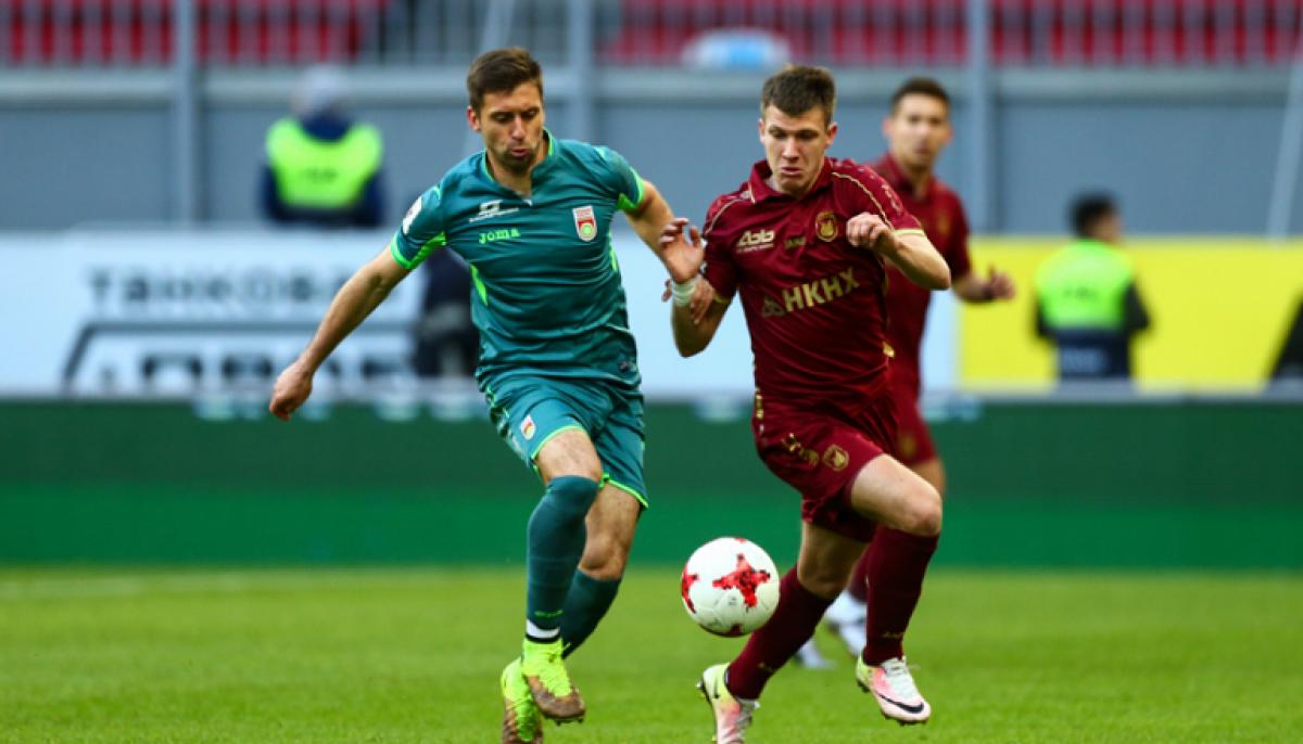Коэффициент ниже 3-х на ничью в матче «Уфа» – «Рубин»