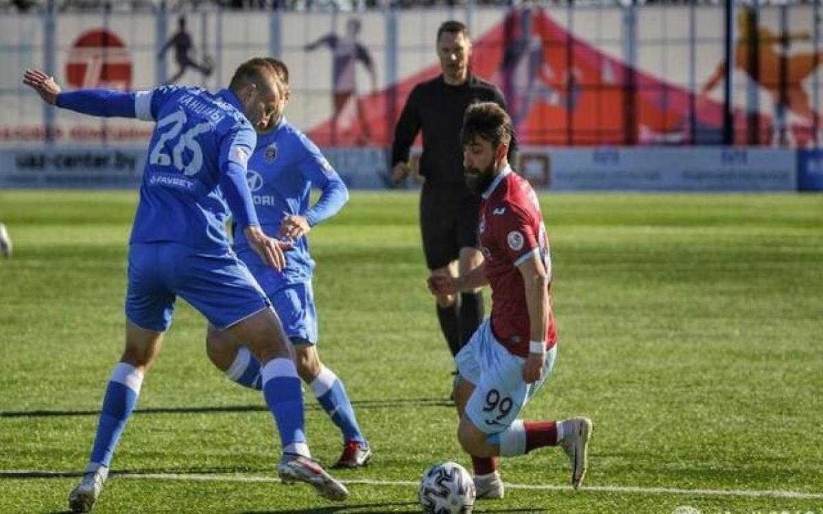 Двукратное падение котировок букмекеров на матч чемпионата Белоруссии