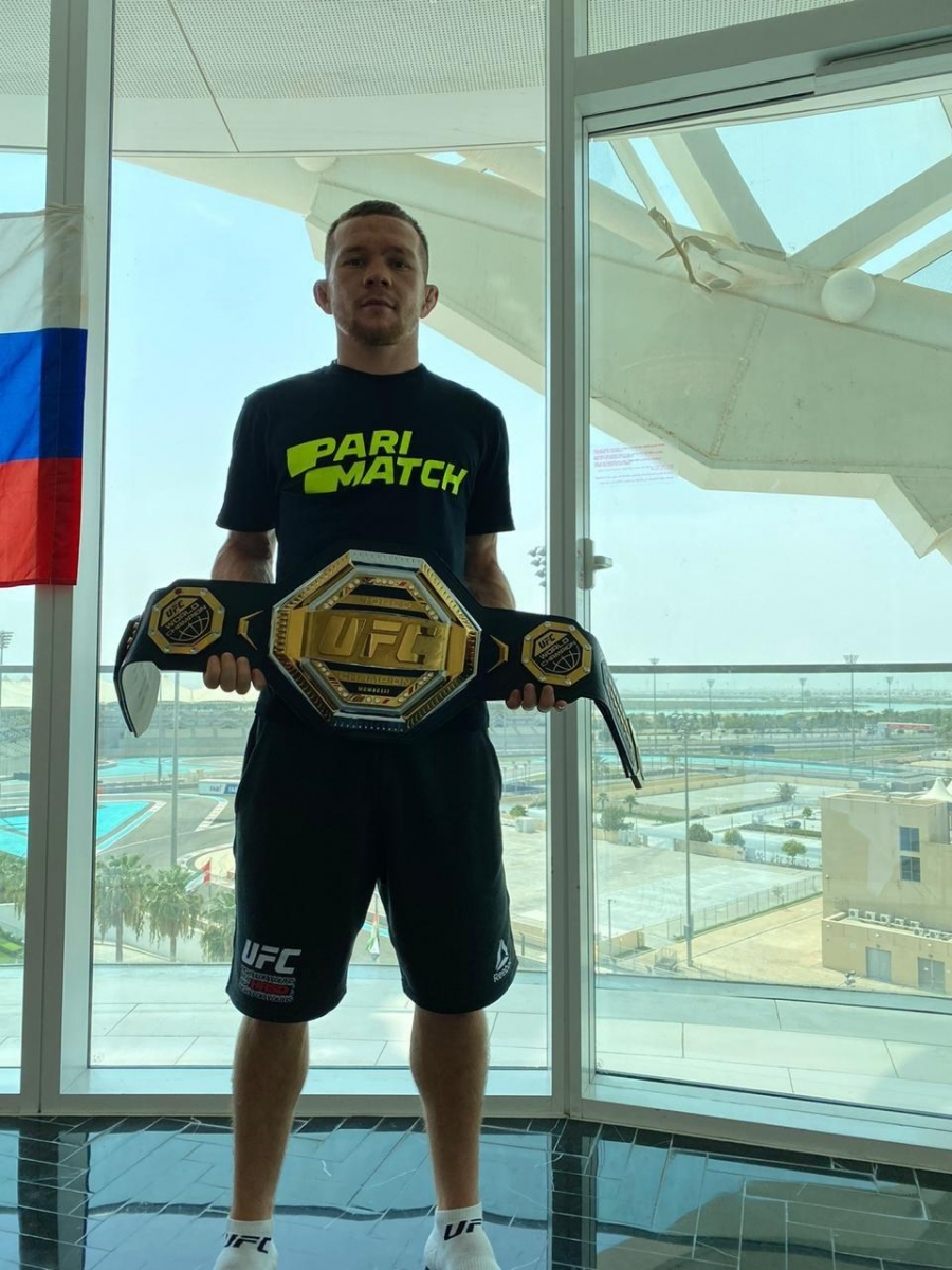 Амбассадор Parimatch Пётр Ян стал чемпионом UFC