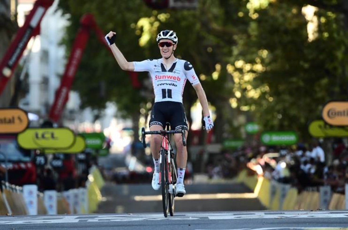 Сорен Краг Андерсен – победитель 14-го этапа Тур де Франс-2020