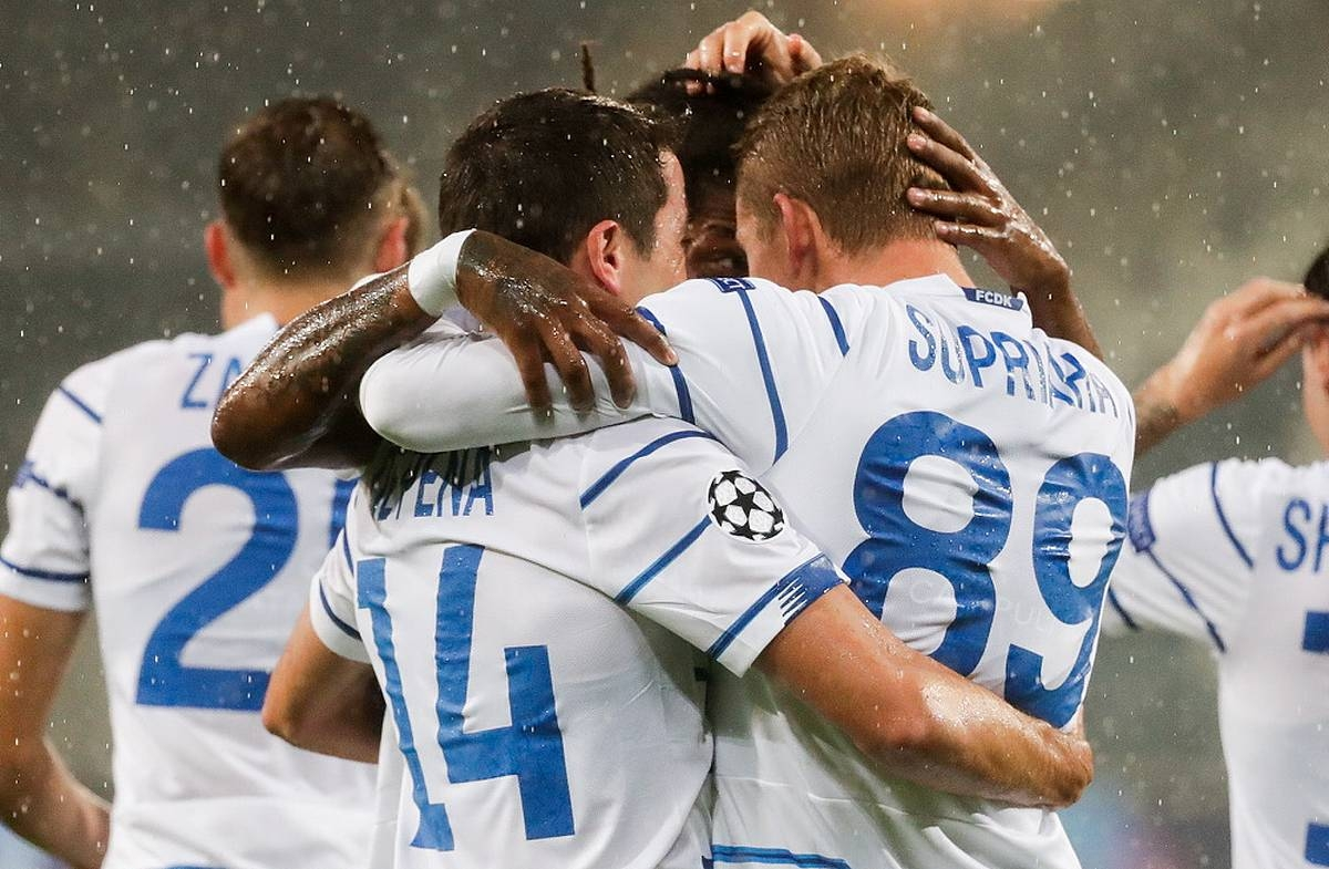 Киевское «Динамо» должно попадать в группу Лиги Чемпионов